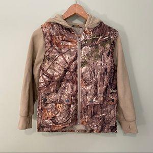 🔥Boy's Cabela's Zonz Woodlands Zip Up Jacket